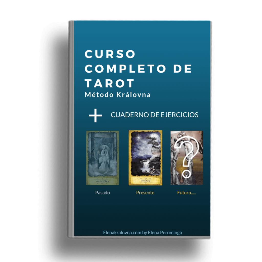 imagen método completo de Tarot + cuaderno de ejercicios del curso de Tarot Elena Královna