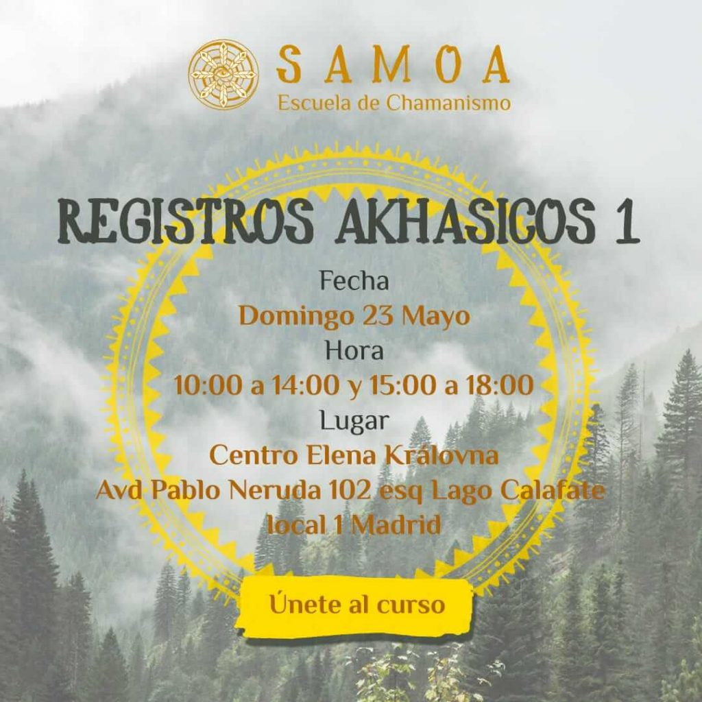 Curso de Registros Akáshicos nivel 1 en la escuela de Tarot y Magia Blanca Elena Královna